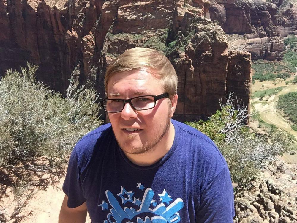 Marc Möllmann im Zion National Park