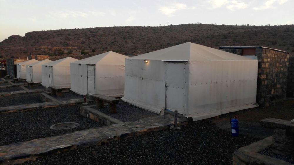 Zelte Im Sama Heights Resort im Oman