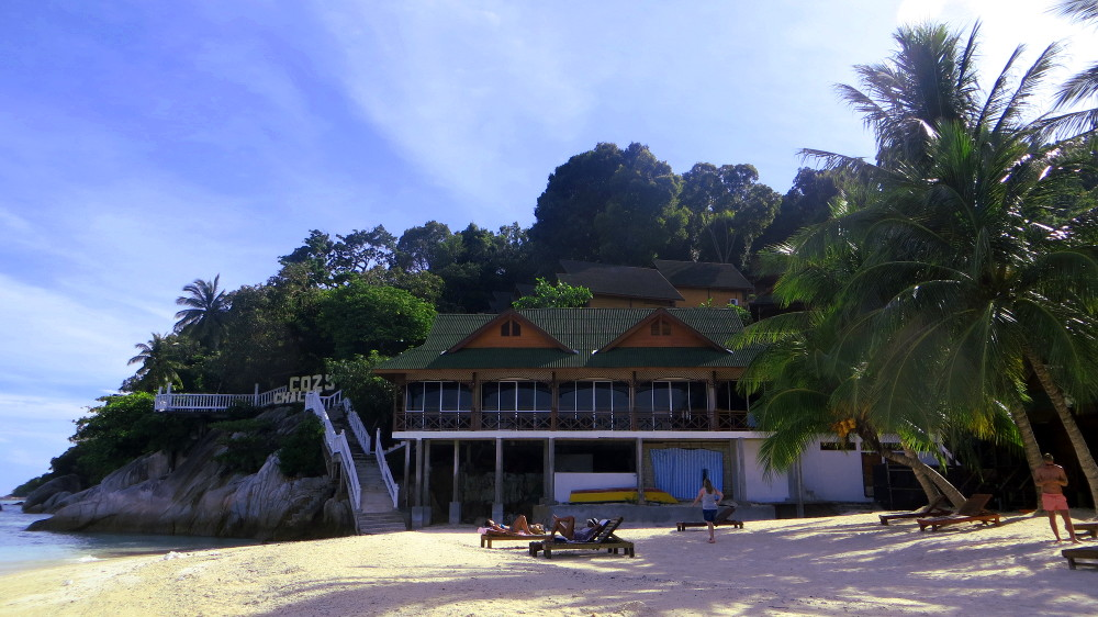 Die Cozy Chalets auf den Perhentian Islands