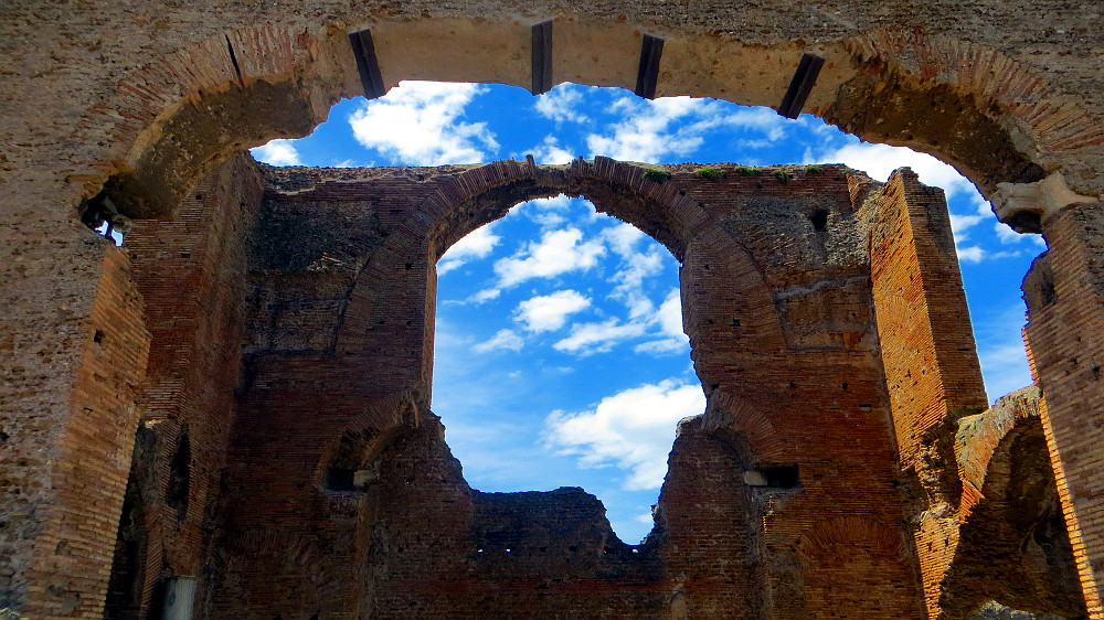 Die Villa der Quintilier auf der Via Appia Antica in Rom