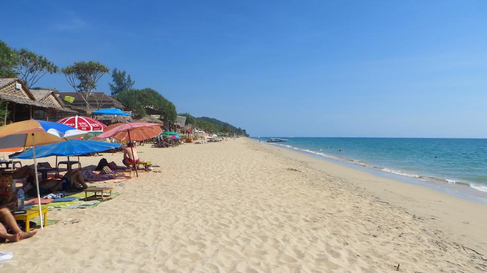 Klong Nin Beach auf Ko Lanta