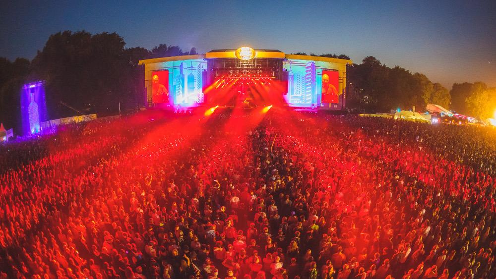 Paul Kalkbrenner abends beim Lollapalooza Berlin 2016