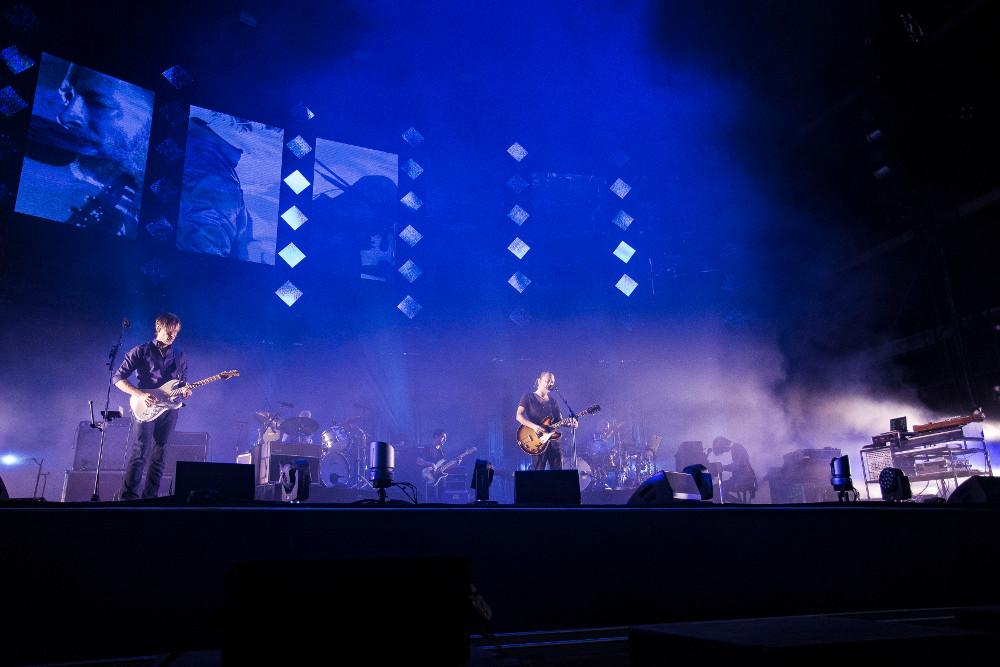Radiohead beim Lollapalooza Berlin 2016