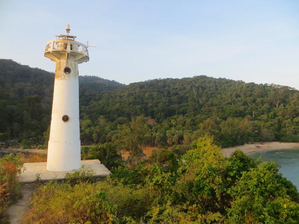 Leuchtturm im Mu Ko Lanta Nationalpark