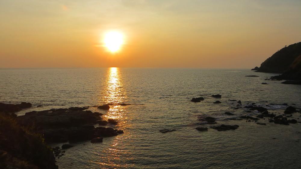 Sonnenuntergang im Mu Ko Lanta Nationalpark
