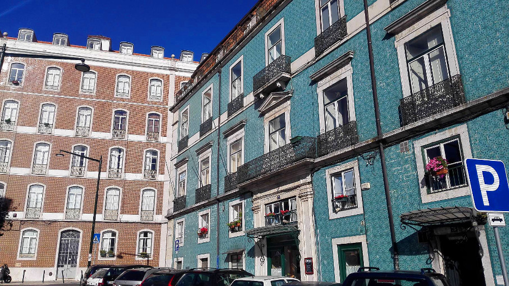 Häuser mit Azulejos iun Alfama