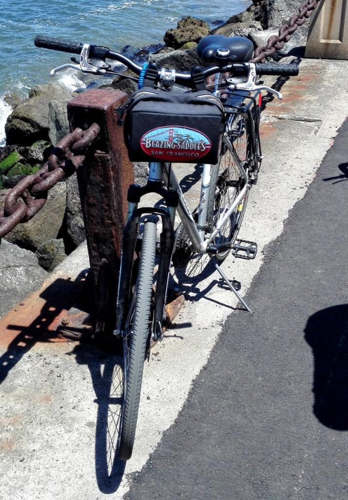 Fahrrad von Blazing Saddles in San Francisco
