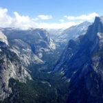 Blick auf den Half Dome im Yosemite national Park