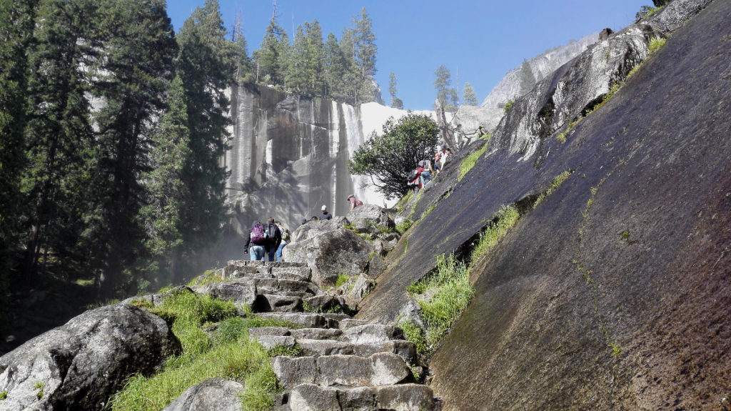 Mist Trail im Yosemite National Park
