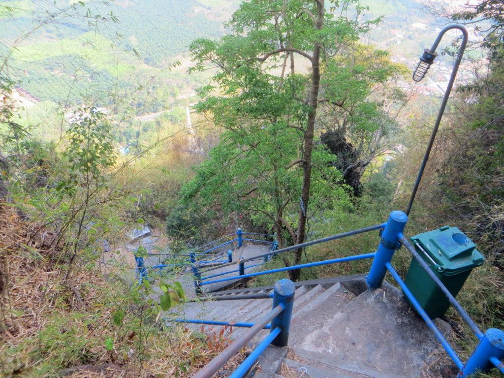 Treppe am Tiger Cave Tempel