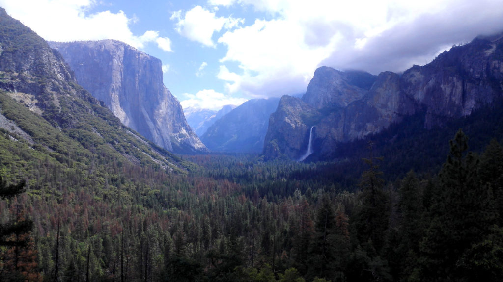 Tunnel View im Yosemite National park