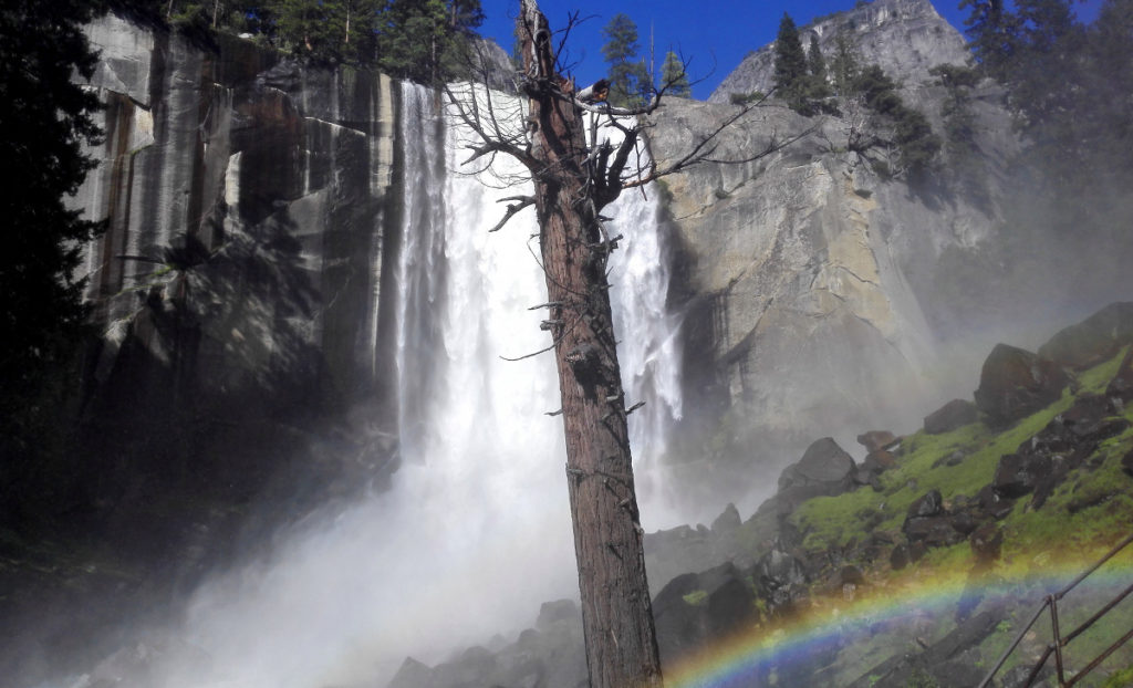 Vernal Falls im Yosemite National Park