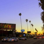 Sunset at Sunset Boulevard