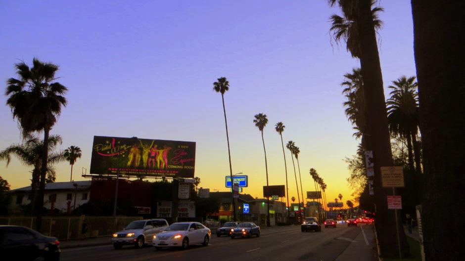 Sunset at Sunset Boulevard
