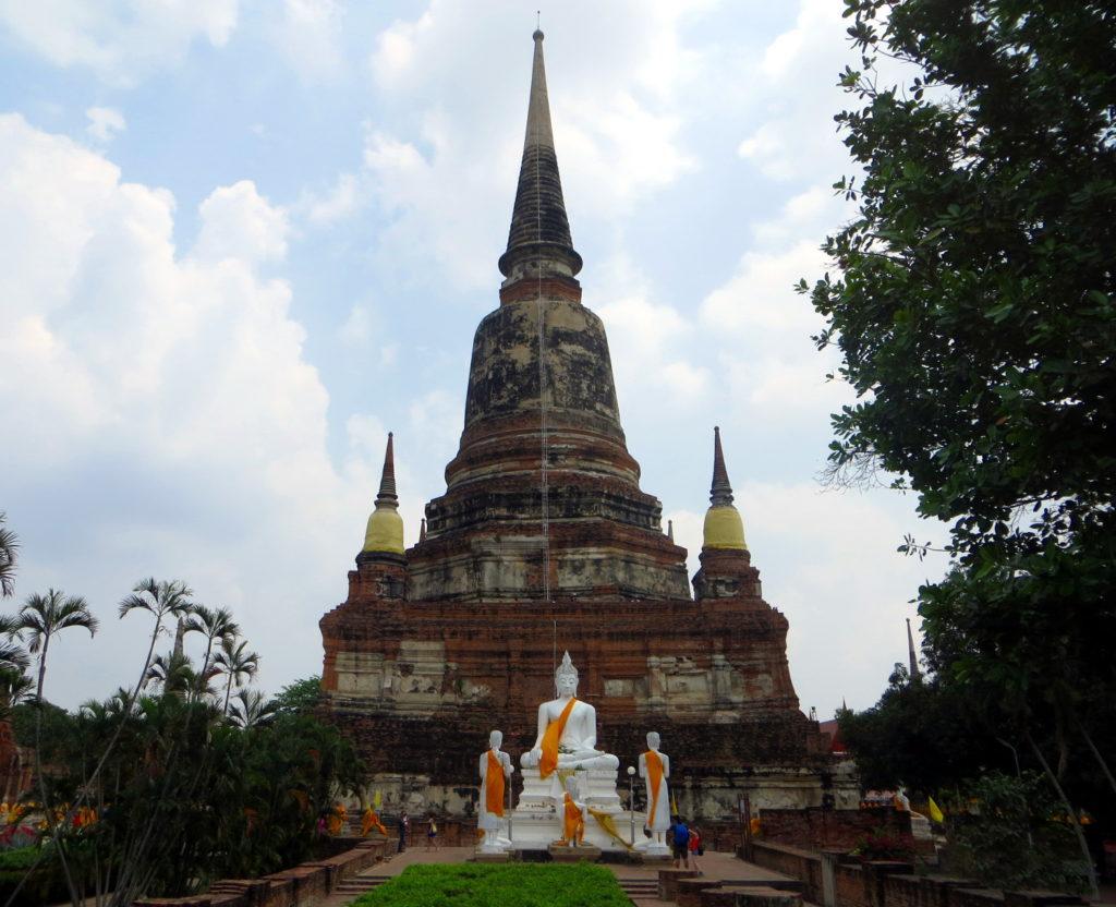Wat Chai Mongkon in Ayutthaya