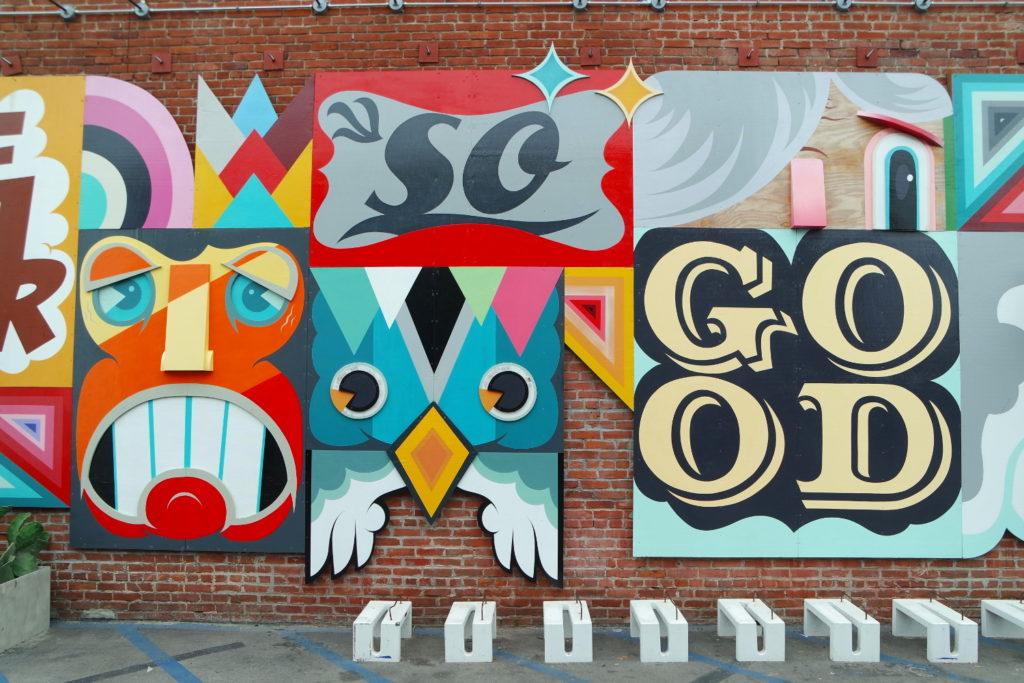 Street Art in der Abbot Kinney Road