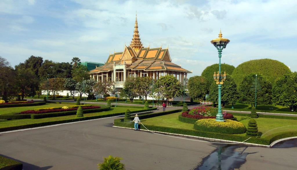 Garten Königspalast Phnom Penh