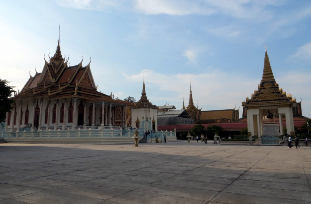 Silberpagode & Königpalast Phnom Penh Panorama