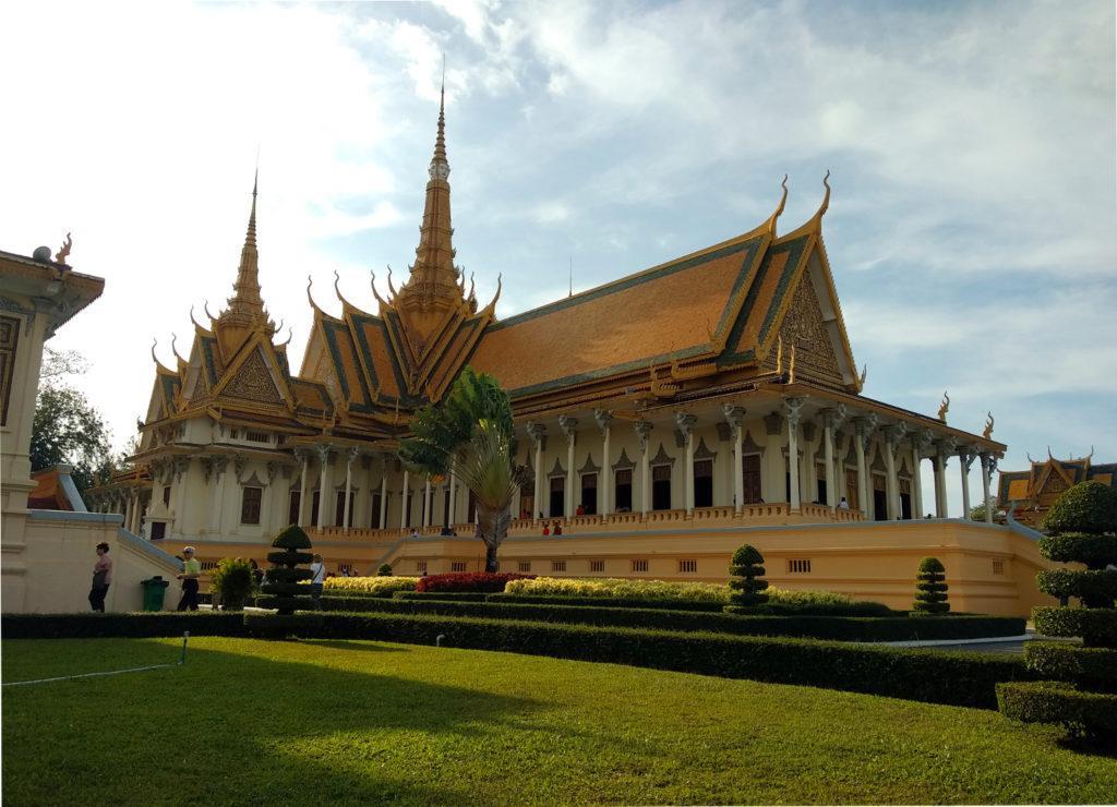 Thronsaal Königspalast Phnom Penh