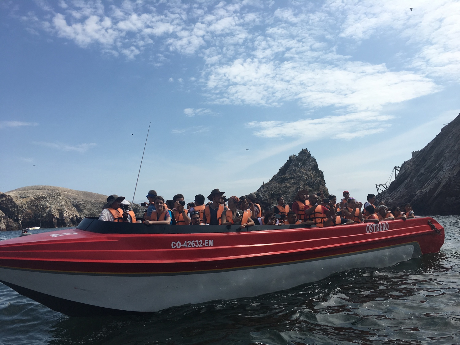 Tour-Boot Islas Ballestas