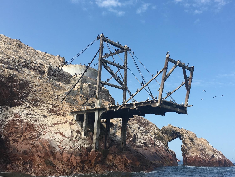 Islas Ballestas Anlegestelle