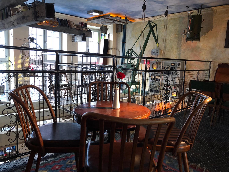 Jozef K - ein typisches Café in Danzig