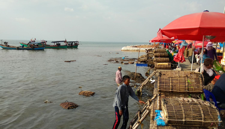 Crab Market Kep