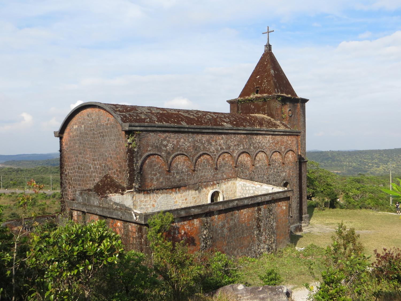 Kircheauf dem Bokor Hill