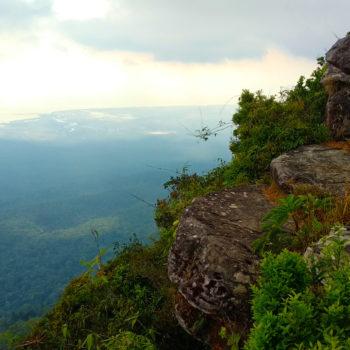 Aussicht vom Bokor Hill