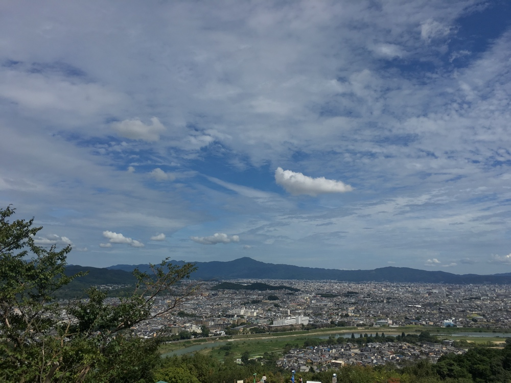 Ausblick Affenpark - Kyoto