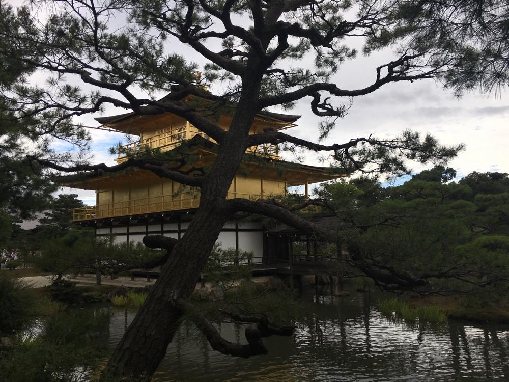 Kinkaku-Ji Rückseite - Kyoto