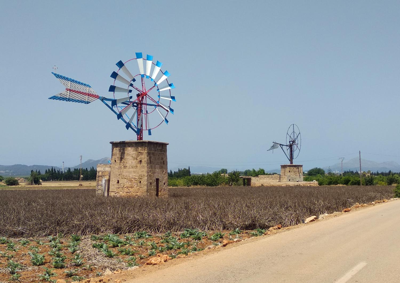 Mallorca Windmühlen