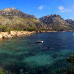 Panorama der Bucht Es Caló auf Mallorca