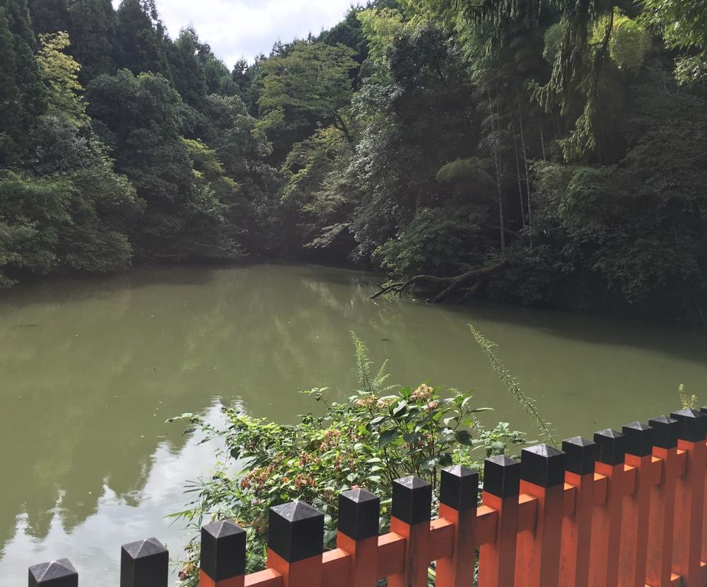 Schrein Tümpel - Kyoto