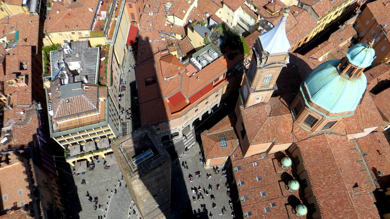 Blick vom Torre degli Asinelli