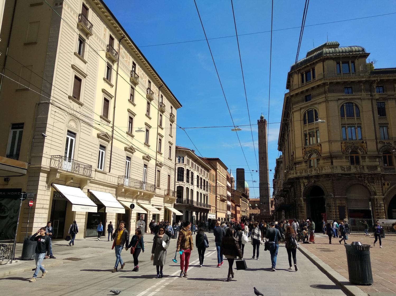 Haupteinkaufstrasse Bologna