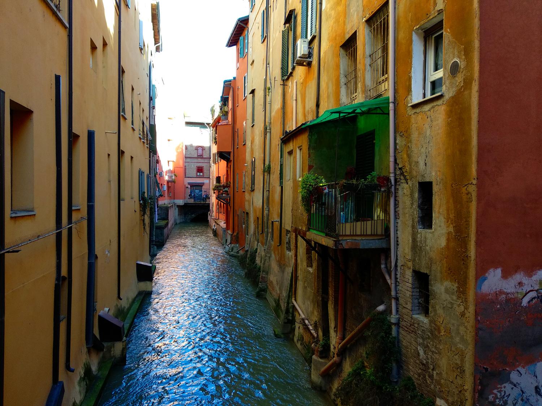 Kanal in Bologna