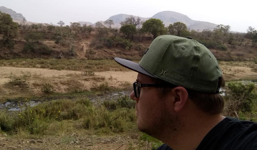 Marc Möllmann im Kruger NP