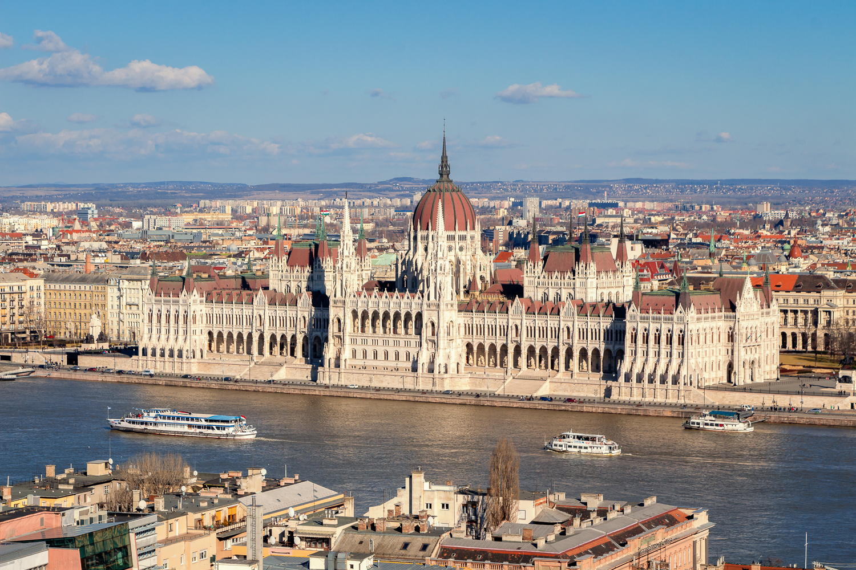 Das Parlament in Budapest