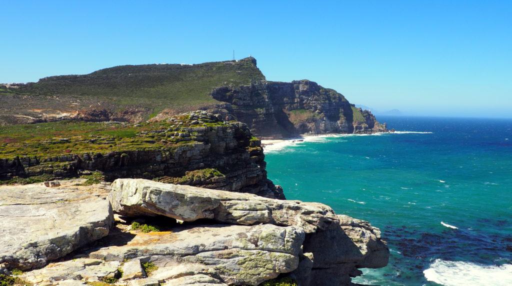 Blick auf den Cape Point