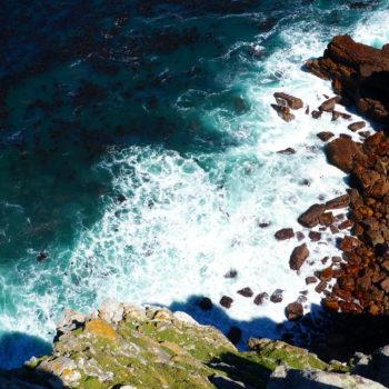 Klippen am Kap Der Guten Hoffnung