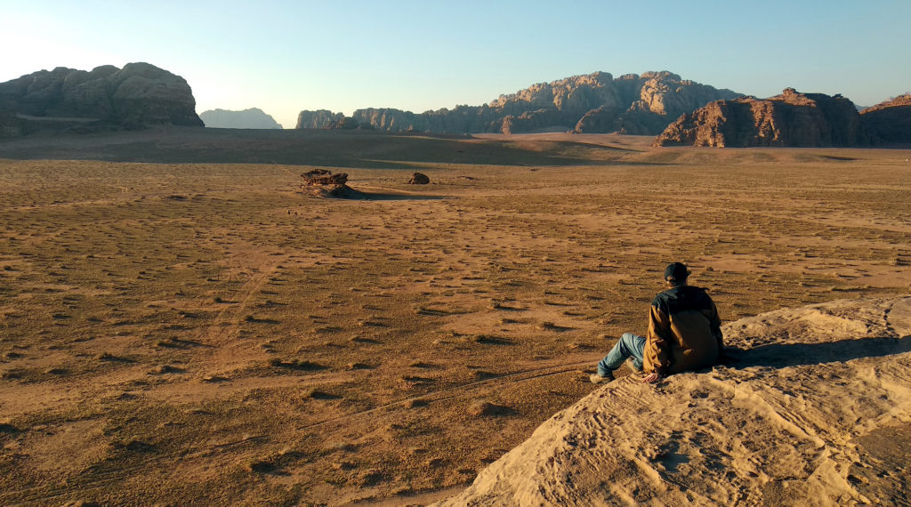 Marc Möllmann im Wadi Rum