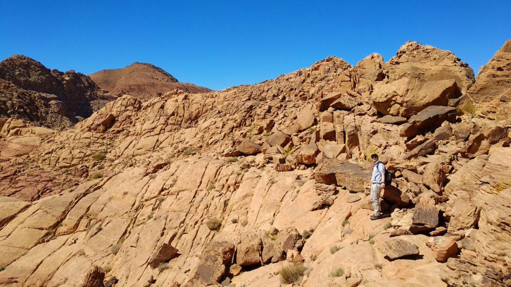 Niclas Möllmann im Wadi Rum