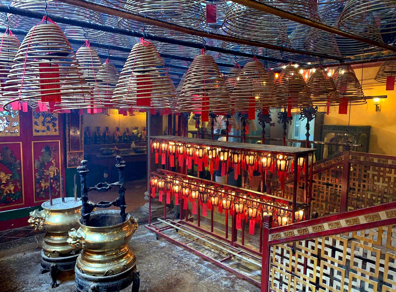 Man Mo Tempel Kerzen