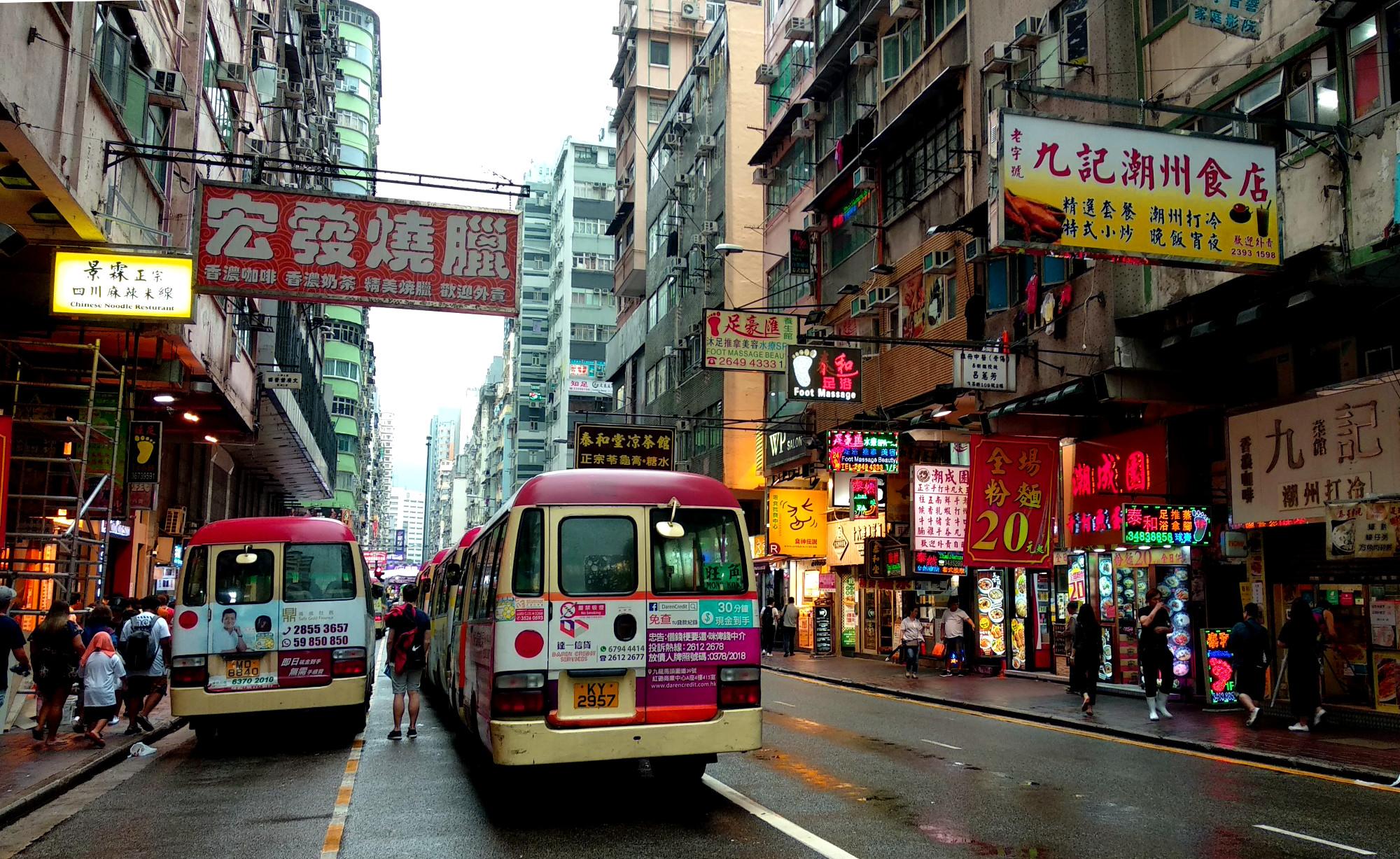 Mong Kok Street Life