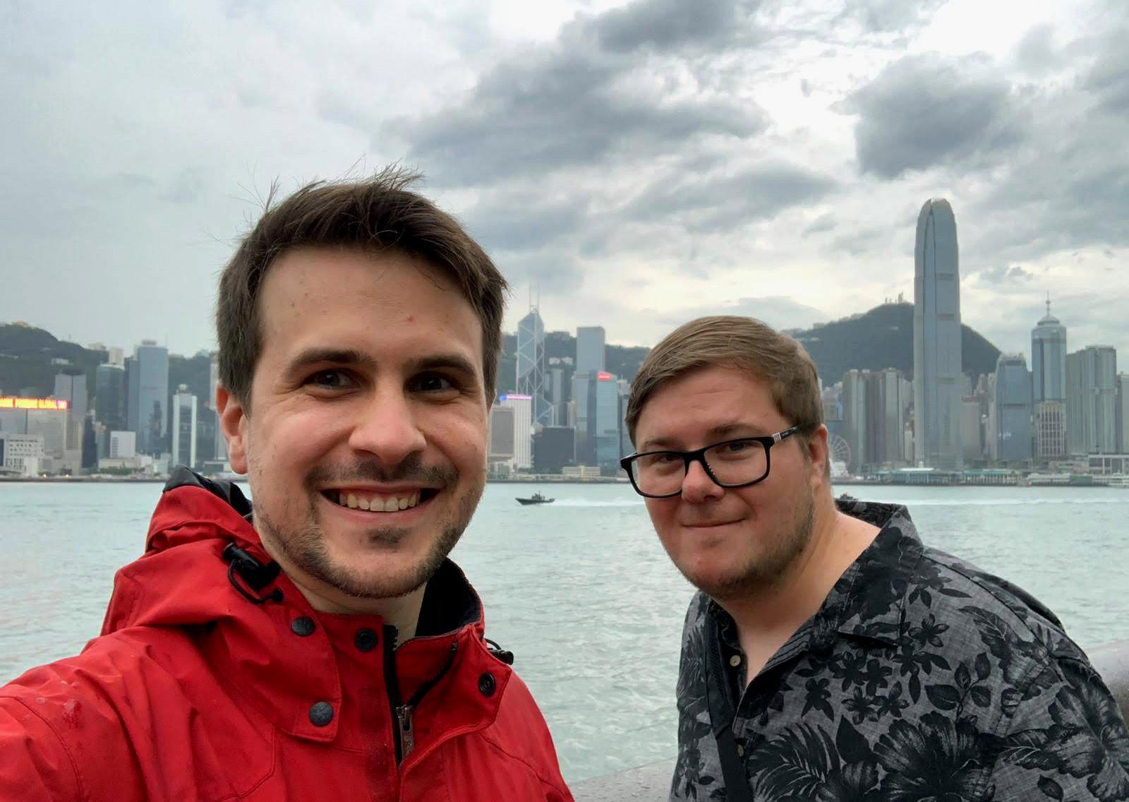 Nils Werschnik & Marc Möllmann in Hong Kong