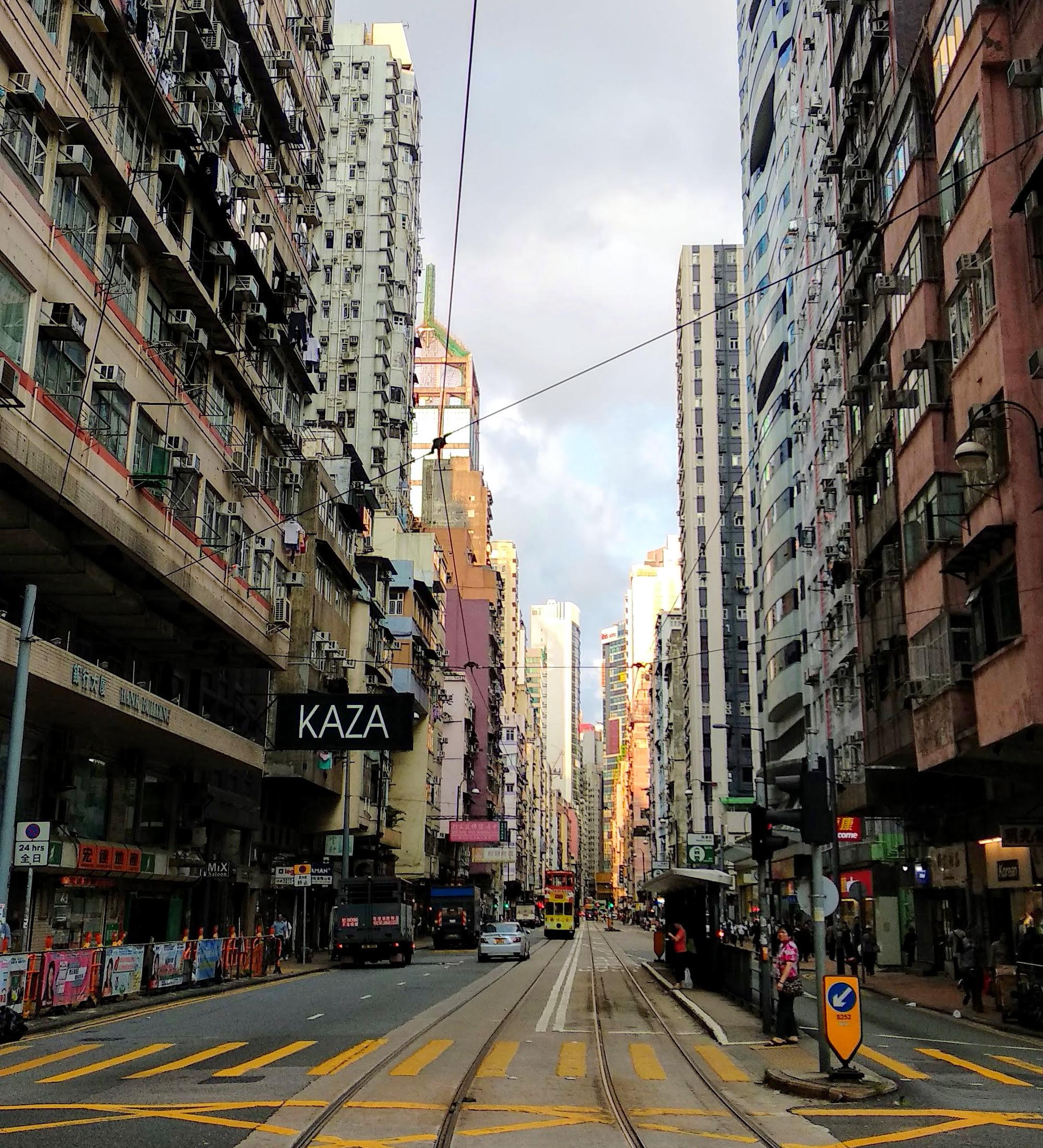 Street in Sai Ying Pun