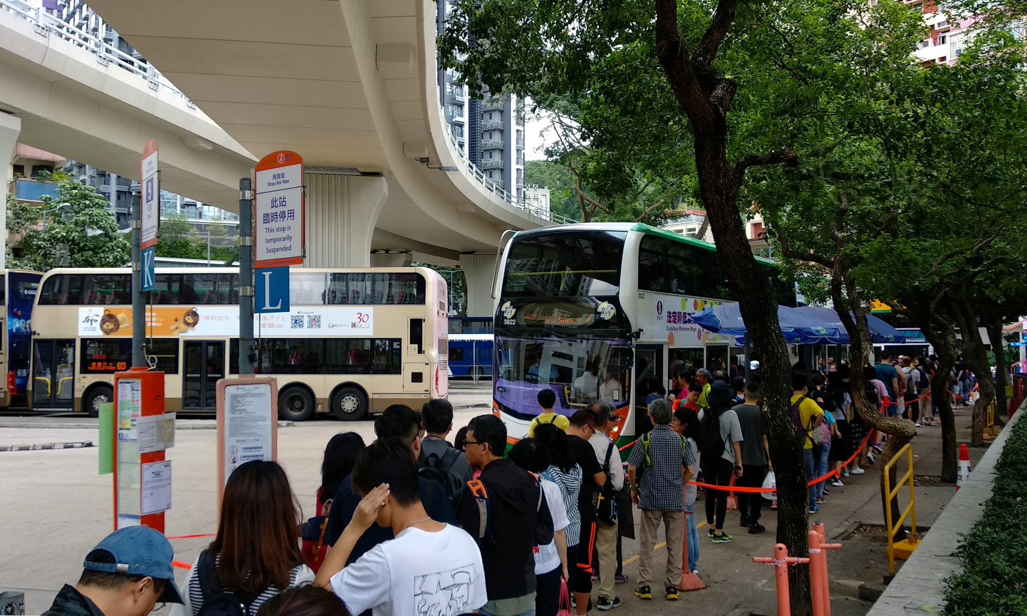 Shau Kei Wan Bus Stop