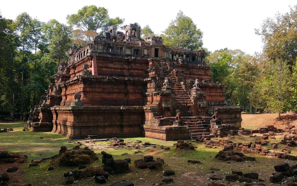 Ruine in Angkor Thom