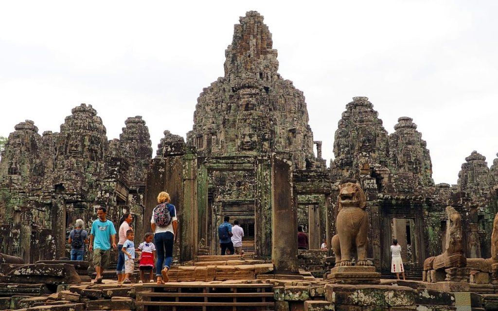 Bayon-Tempel in Angkor Thom
